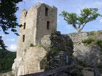 Burgruine Neideck über dem Wiesenttal