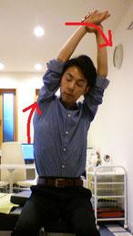 勉強で腰が痛い奈良県大和高田市の女性