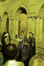 "Passeio de noite "" - visita  «teatralizada» de La Rochelle"
