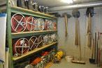 Schlauch-/Materiallager