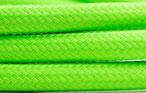 Textilkabel Neon Grün