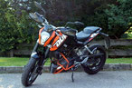 KTM 125 DUKE  11KW/15PS, ABS