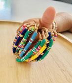 bracelet pour enfant sur lien en corne ou acier inoxydable
