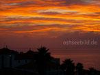 Sonnenaufgang über Canico de Baico