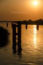 Sonnenaufgang am Bodden bei Zingst