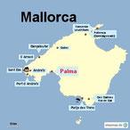 Bild: Karte von Mallorca