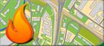 dgisFire Karte