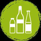 Getränke: Saft Bier