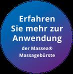 Bild: Anwendung Massagebürste