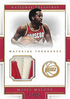 MOSES MALONE / Materials Treasures - No. 39  (#d 2/25)