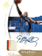 STEPHON MARBURY / SP Extra Limited Auto Patch - No. 59  (#d 4/25)