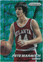PETE MARAVICH / Green Prizm - No. 30  (#d 3/25)