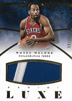 MOSES MALONE / Luxe Patch - No. 51  (#d 9/25)