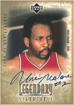 MOSES MALONE / Legendary Signatures - No. MM