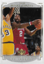 MOSES MALONE / Master Collection - No. 17  (#d 185/200)