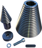 Black Splitter S2 Kegel / Kegelspalter / Spalter / Holzspalter / Baggerzubehör / Bagger