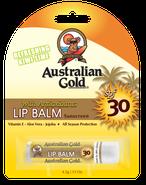 Lippenbalsem SPF Outdoor Australian Gold Zonnebank creme bronzer zoncosmetica DHA cosmetisch natuurlijk