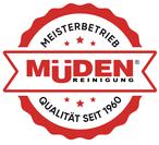 mueden.de, biotexclean, biologische Textilreinigung, Siegel Müden Logo