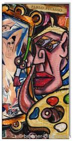 Picasso paints Les Demoiselles dAvignon