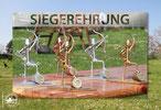 Pokale von Gert Niendorf und seinem Team Toralf Z. und Steffen G.