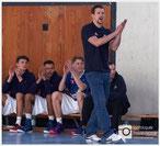 Coach Lipke hat nichts am Spiel seiner Jungs auszusetzen