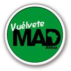 Logo de la campaña Vuélvete MAD