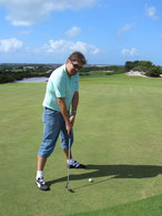 Aula de Golf inclusa no pacote All-Inclusive