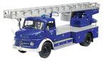 Mercedes-Benz L 322 Drehleiter Metz DL 22 Blue/White THW Schuco 00156