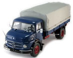 Mercedes-Benz L 322 Pritsche Blue/Red Schuco 00150