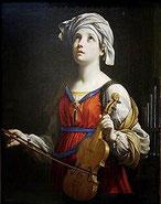 Santa Cecília per Guido Reni, 1606.