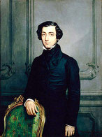 Alexis de Tocqueville, uno dei primi pensatori a sottolineare le possibili degenerazioni dello Stato democratico.