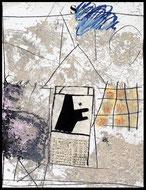 Memoire de vie, james coignard, gravure, carborundum