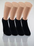 Bild: gute Socken, Sneaker Socken schwarz, Strumpf-Klaus