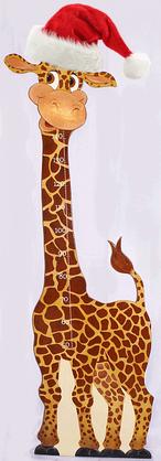 Giraffe, Meßlatte für Kids