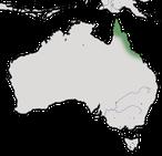 Karte zur Verbreitung des Torreshonigfressers