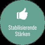Die Stabilisierenden Stärken als eine von fünf Stärkendimensionen.