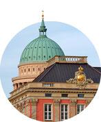 Stadtführung Potsdam - Nikolaikirche und Stadtschloss