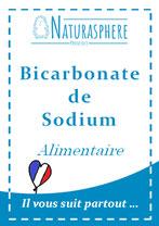 Bicarbonate de sodium alimentaire Naturasphere