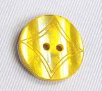 Perlmutt Gelb mit Muster