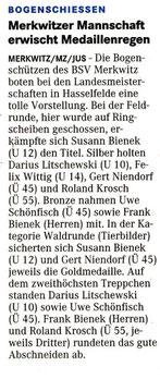 Artikel - BSV Merkwitz
