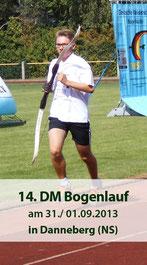 14. DM Bogenlaufen am 31./ 01.09.2013 in Dannenberg