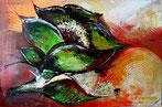 Abstrakte Auftragbilder vom Künstler