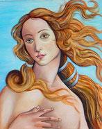 Auftragsmalerei Venus Boticelli