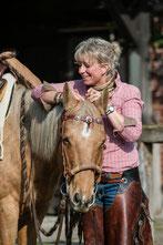 TGT Trainerin Tanja Rühter-Böttger Pferdehof Rehedyk Horsemanship lernen leichtes Reiten lernen
