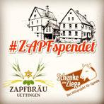 #ZAPFspendet