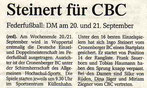 Westdeutsche Zeitung Bericht vom 03.09.2003