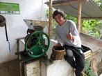 Carlos, unser Kaffee-Guide auf der Don Elias - Farm