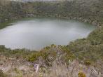 Laguna de Guatavia - durch einen Meteoriteneinschlag einstanden