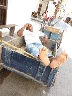 Mittagspause in Cartagena