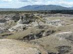 Der graue Teil der Tatacoa-Wüste